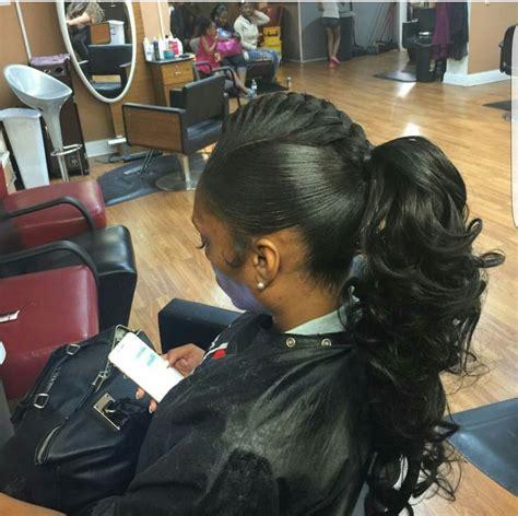updo hairstyles for black women in atlanta ga 25 beste idee 235 n over weave ponytail hairstyles op
