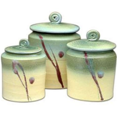 Handmade Pottery Canister Sets - handmade ceramic canister set throw me some pottery