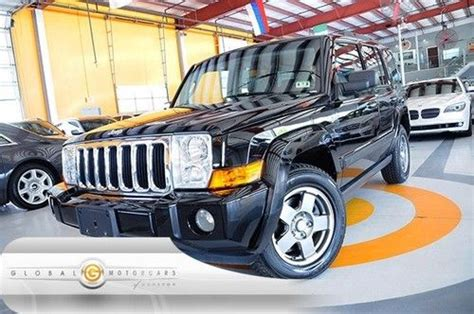 07 Jeep Commander For Sale Purchase Used 07 Jeep Commander Sport 4wd Heated Seats