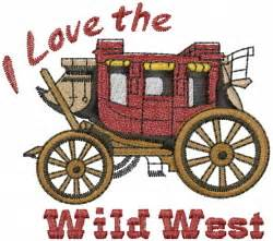 design west embroidery stagecoach wild west embroidery designs machine