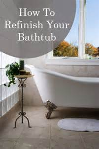 how to refinish your bathtub 1 how to build it