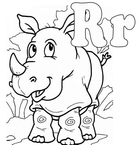 coloring pages letter r letter r coloring pages to download and print for free