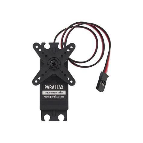Servo Parallax Standard parallax continuous rotation servo 900 00008 parallax inc