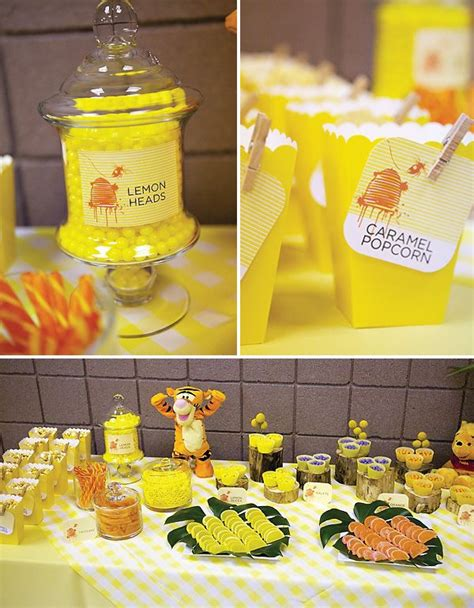 water themed birthday party honeybear 104 best winnie the pooh party ideas images on pinterest