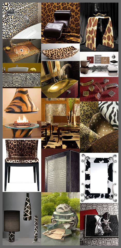 animal print decorating ideas designs for home