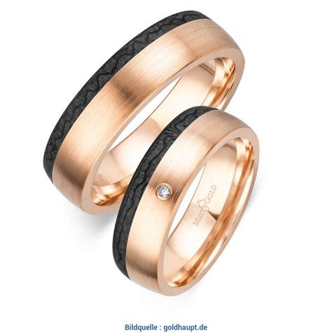 Eheringe Rotgold Schwarz by Beeindruckend Trauringe Rotgold Schwarz Ros 233 Gold Carbon
