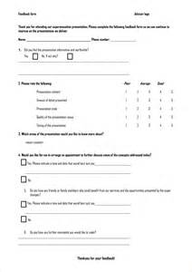 feedback form template doc 405520 feedback form word template ms word