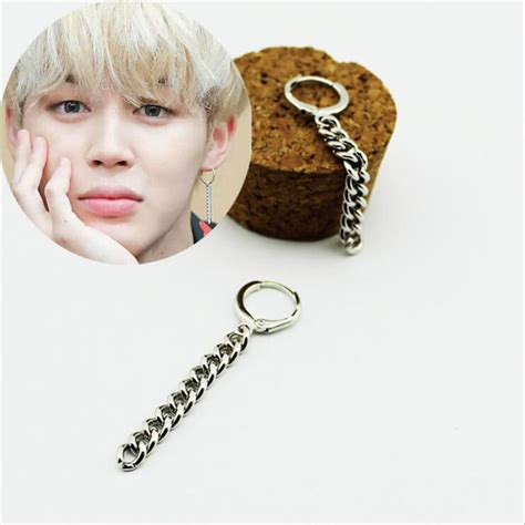 Bts Earrings | youpop kpop bangtan boys album bts jimin stud earrings