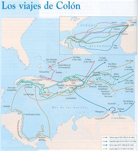 atlas ilustrado de cristobal 8467708247 1492 a 1502 los viajes de colon conquista de am 233 rica guerras ca 241 as y batallas