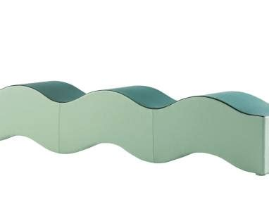 ripple bench coalesse ripple contemporary lounge seating steelcase