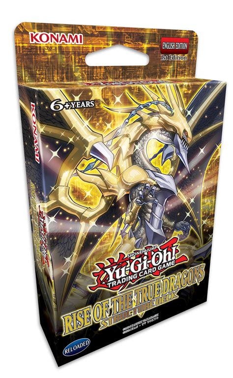 yugioh structure decks yu gi oh tcg rise of the true dragons structure deck at