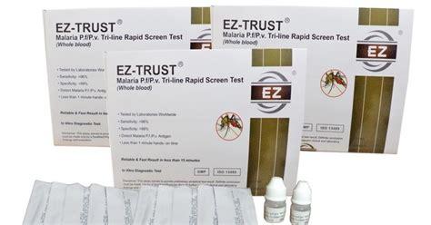 Alat Tes Malaria alat kesehatan grosir alat test malaria ez trust