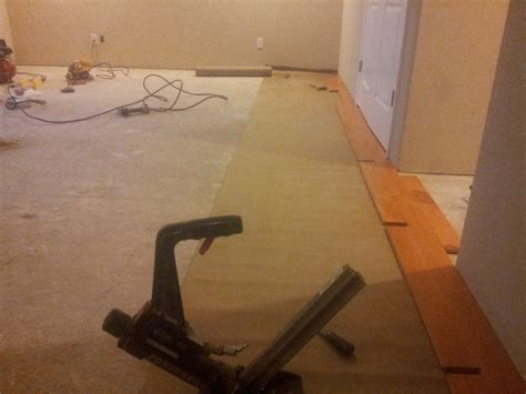 vapor barrier under solid hardwood always page 2 flooring contractor talk