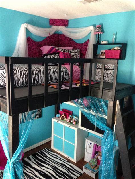 Diy Bedroom Loft by Diy Loft Bed Foam Corner Headboard And Ikea Storage