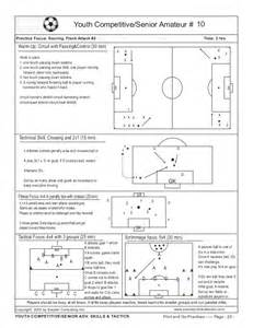 soccer practice plan template book print go soccer practice plans