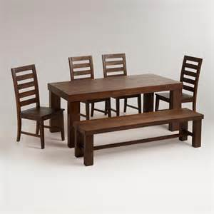 francine dining furniture collection world market wood flynn hairpin dining table world market