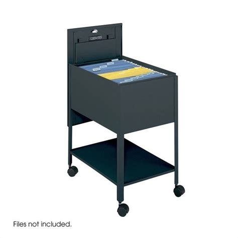 extra deep file cabinet safco extra deep 1 legal mobile tub file w