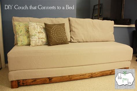 how to make a sleeper couch how to make a diy couch