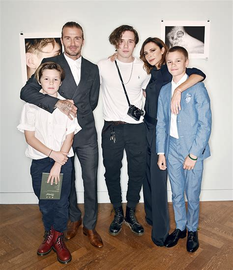 The Beckhams Are by Beckham Family Attend Beckham S Photo Book Launch