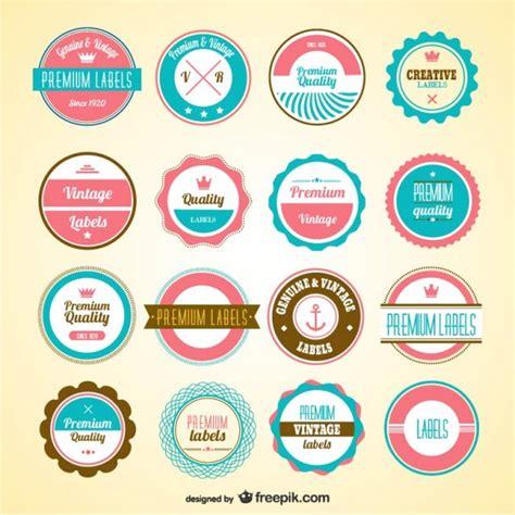 imagenes vintage redondas insignias redondas de calidad descargar vectores gratis