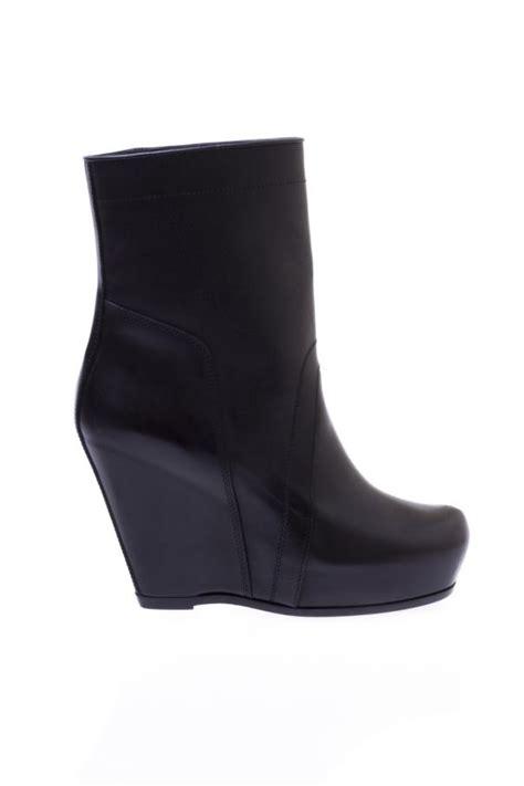 wedge boots rick owens vitkac shop
