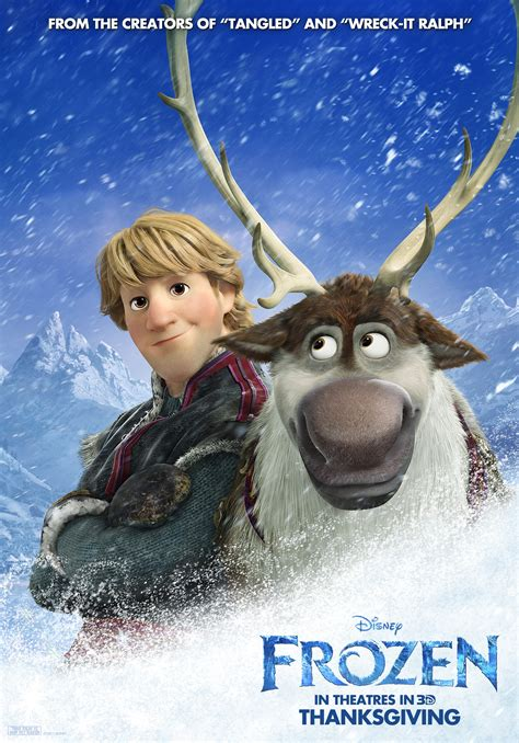 frozen kristoff wallpaper frozen poster sven and kristoff olaf and sven photo
