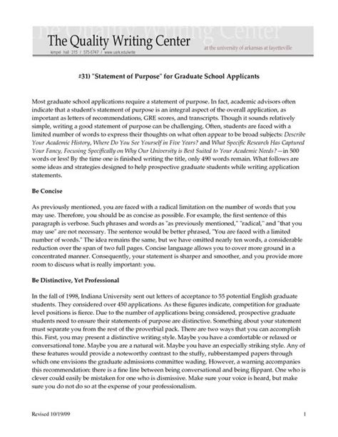 statement of objectives graduate school exle sle personal statements graduate school sle