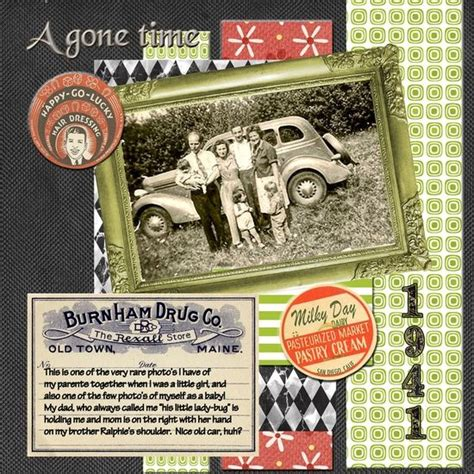scrapbook layout vintage vintage scrapbook layout scrapbooking pinterest