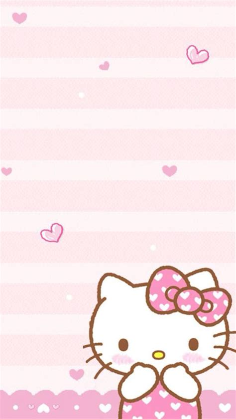 wallpaper hello kitty pink for iphone wallpaper wallpaper hello kitty pinterest wallpaper