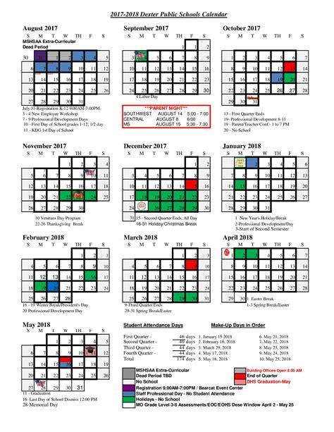 Calendar 2018 Drive 2017 2018 School Calendar R Xi Schools