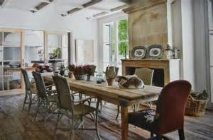 Rustic Dining Room by Auction Decorating Rustic Dining Tables In Spain