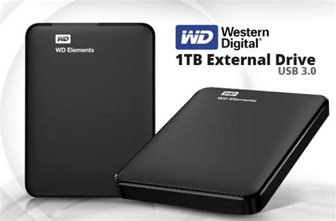 External Hardisk 1 Western Digital 14 western digital 1 tb external disk promo