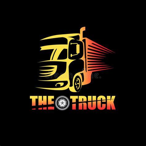 truck logo stock vector illustration  tires symbol