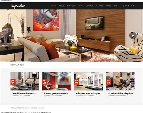 Best Interior Design Company Websites by 10 Best Interior Design Themes 2017 Awd