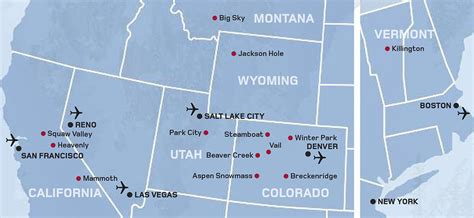 ski resorts in usa map ski usa map snow summit piste maps photo michigan ski