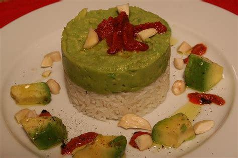Ricci Avocado cookie corner insalata di riso e avocado con ricci e mandorle