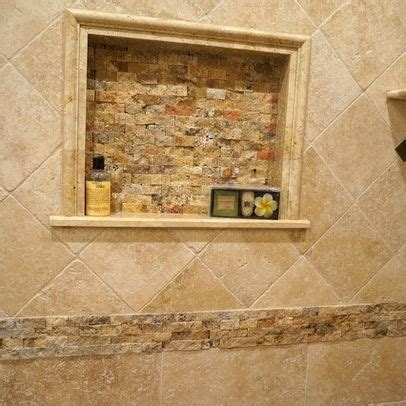 Bathroom Travertine Tile Design Ideas by Classic Travertine Tile Shower Design Ideas Pictures