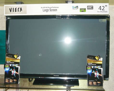 video format panasonic viera sd card panasonic 42 quot plasma tv with usb and sd card port and lan