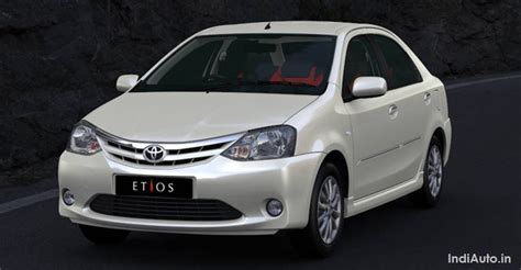 Toyota Etios India 2010 2011 Toyota Etios Sedan Price In India