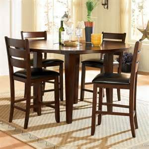 Drop Leaf Table Sets Homelegance Ameillia 5 Drop Leaf Counter Height Table Set Beyond Stores
