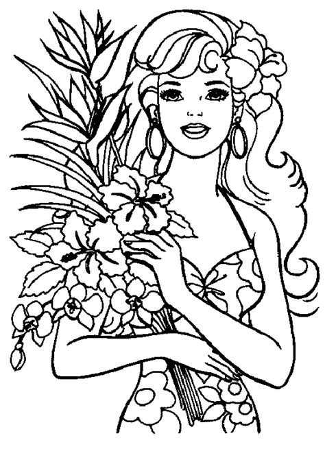 hawaiian princess coloring pages coloring coloring pages for
