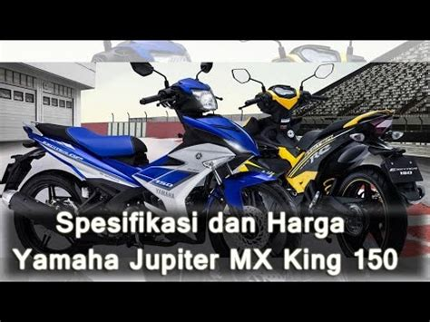 Shockbreaker Jupiter Mx New Spesifikasi Dan Harga Yamaha Jupiter Mx King 150