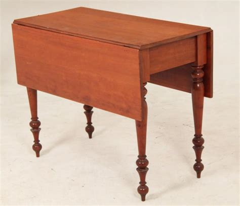 Cherry Drop Leaf Table Early American Cherry Drop Leaf Table