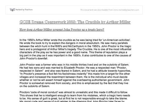 Proctor Tragic Essay by Proctor Tragic Essay