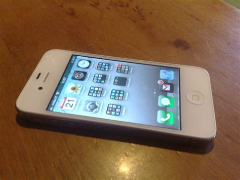Hp Iphone 4s White vi sped apple iphone 4s 32gb white