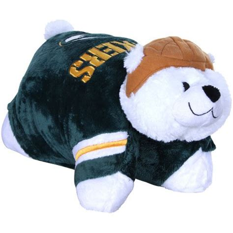 Green Pillow Pet by Compare Wees Turtle Vs Nfl Green Bay Packers