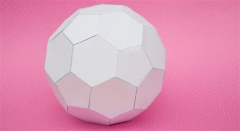 How To Make A 3d Sphere With Paper - 13 best photos of paper cut out sphere 3d sphere cut out