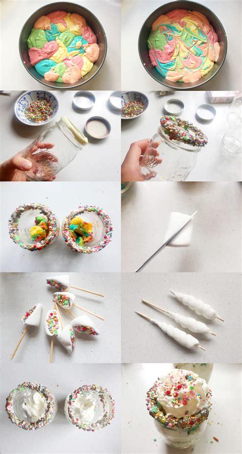 regenbogen kuchen im glas einhorn kuchen einhorn torte f r den kindergeburtstag