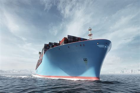 biggest water vessel in the world maersk triple e biggest ship in the world i like to
