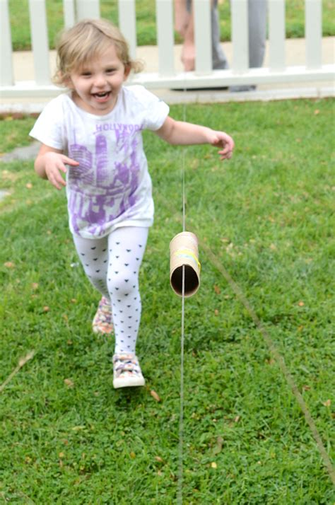 how to make a zip line in your backyard make your own zip line steam activity for kids meri cherry